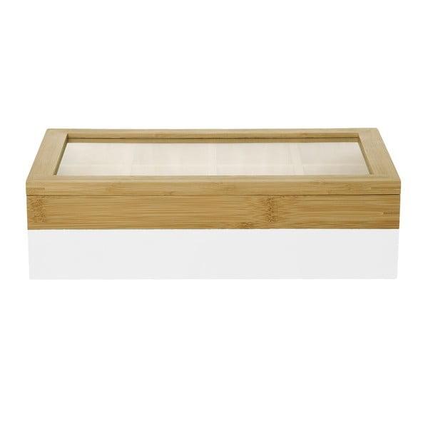 Krabička na čaje Tea Dip-it White