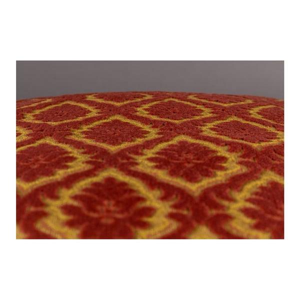 Červený polštář Dutchbone Ottava, 45x45cm