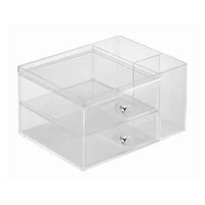 Organizér InterDesign 2 Drawer, výška 18 cm
