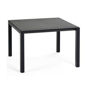 Antracitový zahradní odkládací stolek Nardi Garden Aria, 60x60cm
