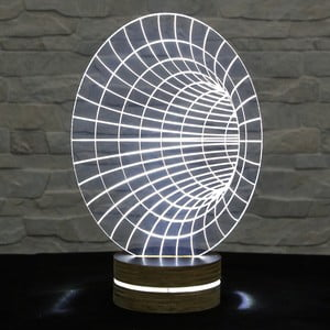 3D stolní lampa Hole