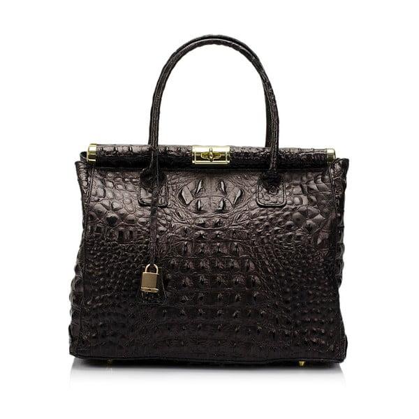 Czarna torebka skórzana Lisa Minardi Bletillia