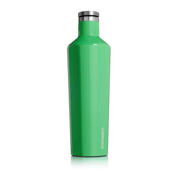 Zelená cestovní termolahev Corkcicle Caribbean Green Large, 740 ml