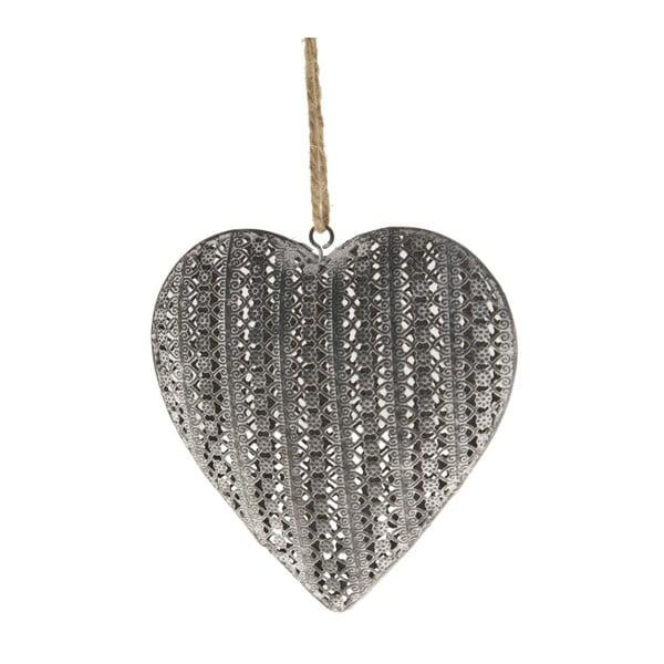 Závěsná dekorace Antic Line Heart