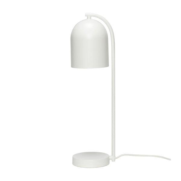 Bílá stolní lampa Hübsch Bengt