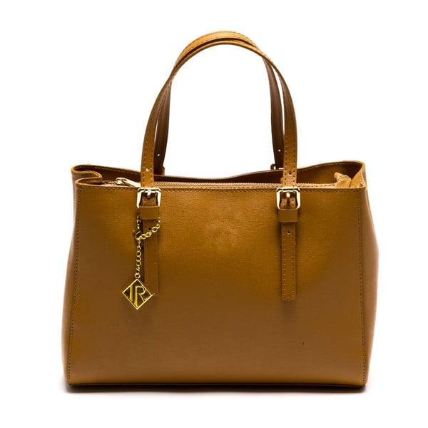 Kožená kabelka Isabella Rhea 441 Cognac