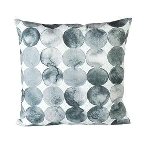 Polštář s výplní Spheres Grey/White, 45x45 cm