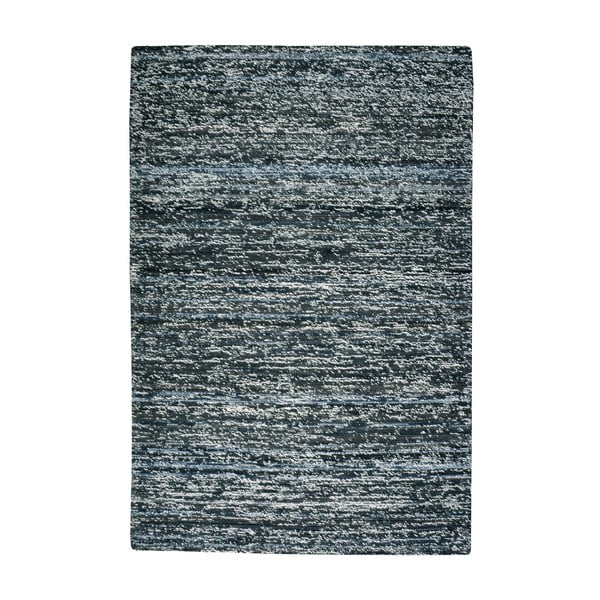 Vlněný koberec Deniza Charcoal, 160x230 cm