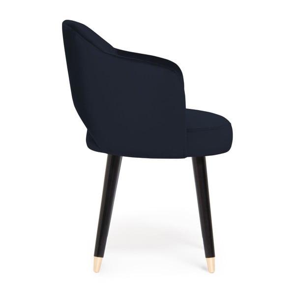 Sada 2 tmavě modrých židlí Vivonita Olivia