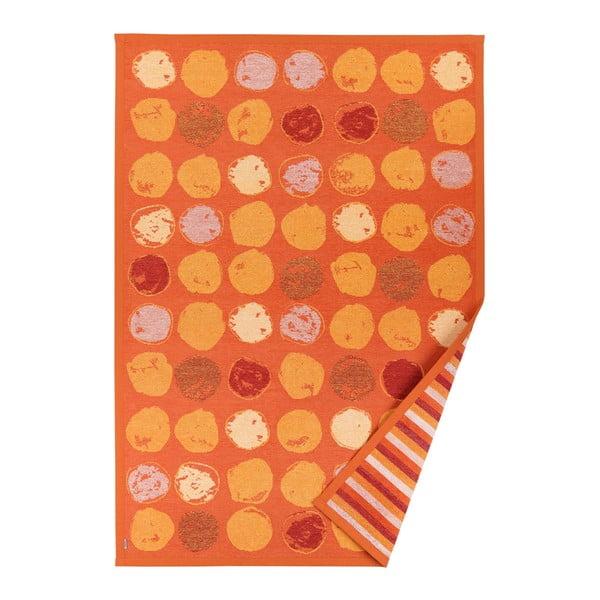 Pomarańczowy dywan dwustronny Narma Veere, 70x140 cm