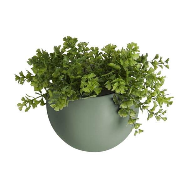 Globe matt zöld fali kerámia kaspó - PT LIVING