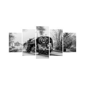 Vícedílný obraz Black&White no. 23, 100x50 cm