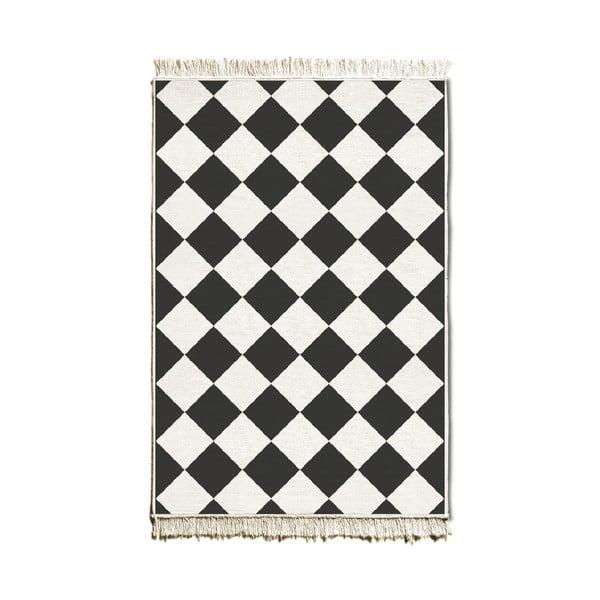 Covor reversibil Chess, 80 x 120 cm
