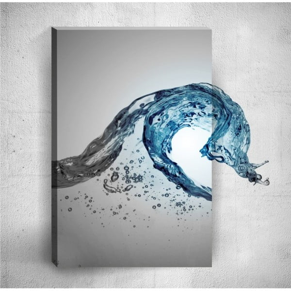 Nástěnný 3D obraz Mosticx Water Flow, 40 x 60 cm