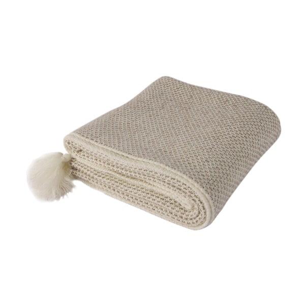 Béžová deka Tete