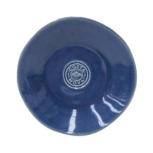 Modrý kameninový talíř na pečivo Costa Nova,⌀16 cm