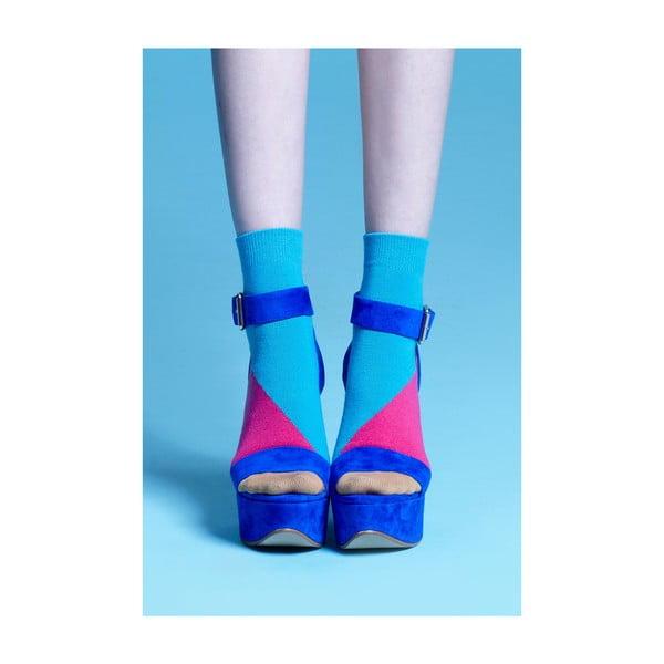 Ponožky Percy Turquoise, vel. 35-38