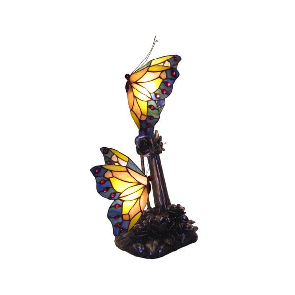 Tiffany Lampa Butterflies Patina