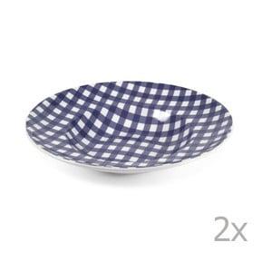 Sada 2 talířů na těstoviny Livia 30.5 cm, modrý