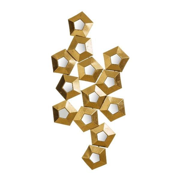 Dekorace Golden Hex, 114x59 cm