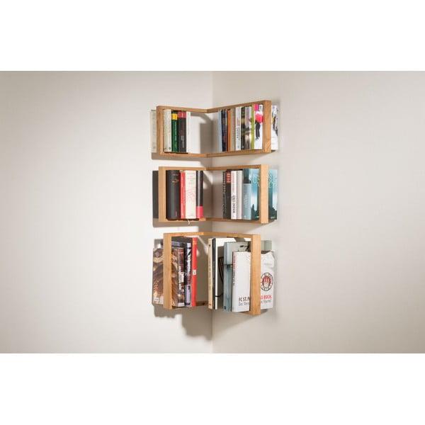 Raft pe colț pentru cărți das kleine b b3, înălțime34cm