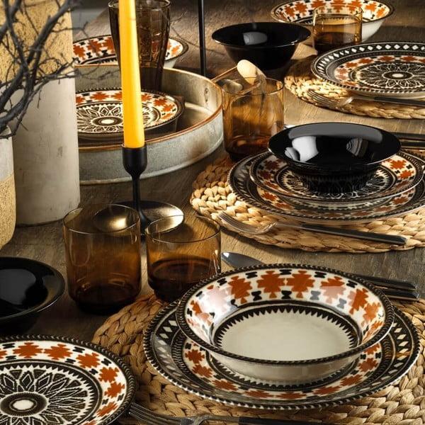 24dílná sada porcelánového nádobí Kutahya Pafio