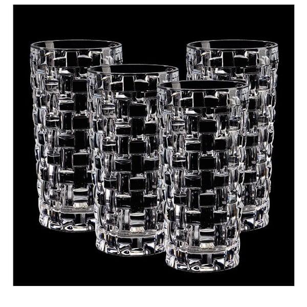 Sada 4 pohárov z krištáľového skla Nachtmann Bossa Nova, 395 ml