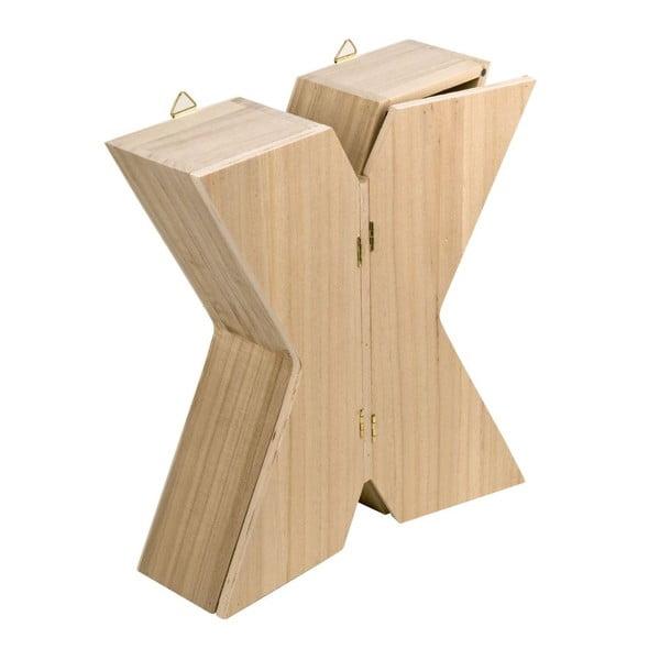 Nástěnný box Letter X