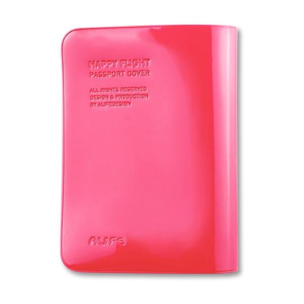 Stylové pouzdro na pas, růžové