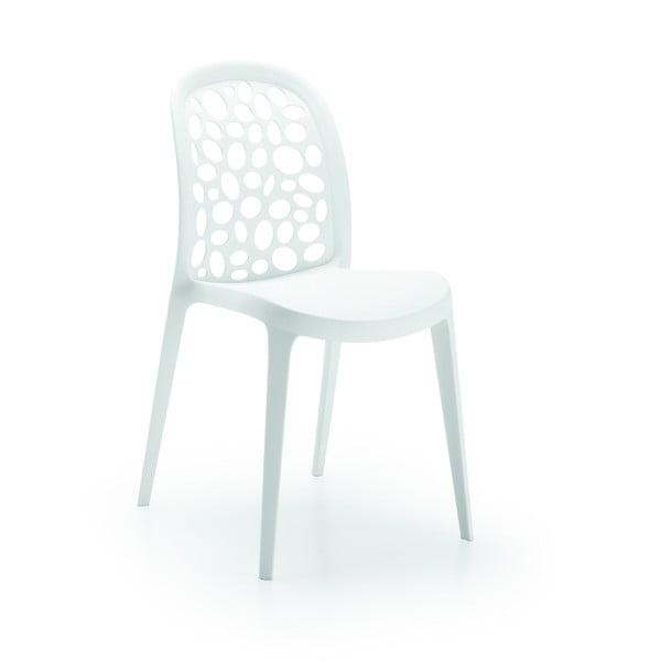 Židle Messina, bílá