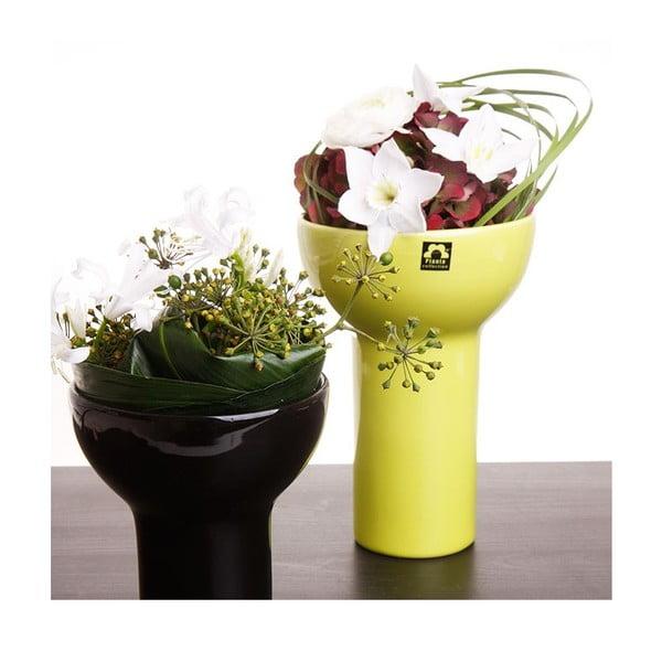 Váza Odet 25 cm, zelená