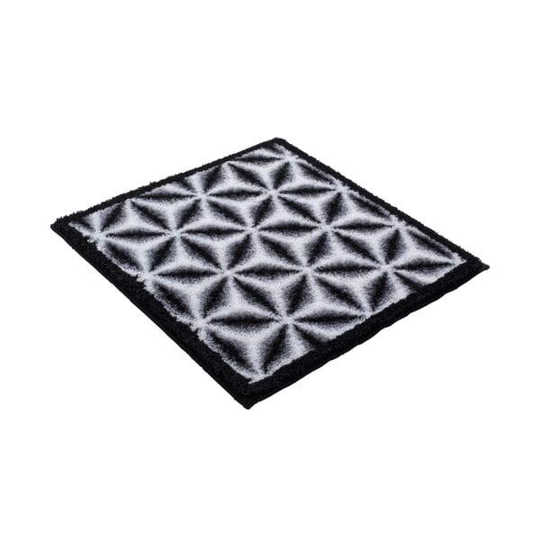 Koupelnová předložka Kolor My World XIV 60x60 cm, šedá