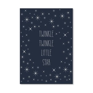 Poster Americanflat Twinkle, 30 x 42 cm