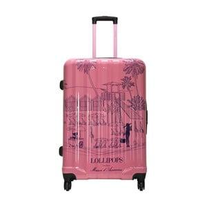Cestovní kufr LULU CASTAGNETTE Lollipops Bloom, 107l