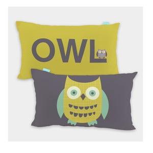 Povlak na polštář Owls 50x30 cm