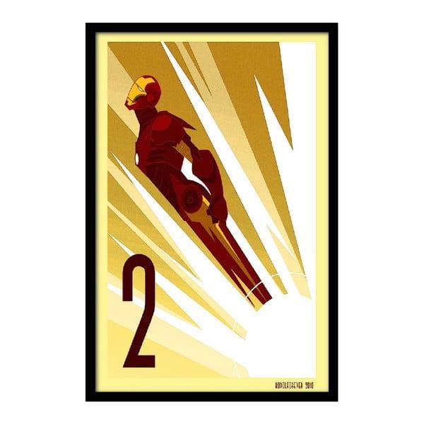 Plakát Flying Hero, 35x30 cm