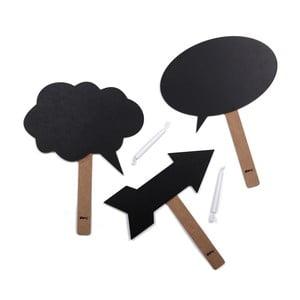 Tabulkové desky na večírky DOIY Chalky-talkies