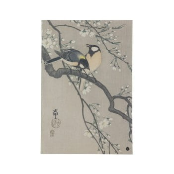 Poster din hârtie handmade BePureHome Blossom, 47 x 32 cm de la BePureHome