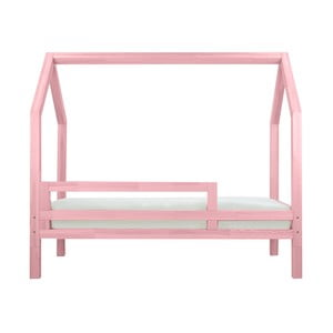 Růžová bočnice k posteli Benlemi Funny