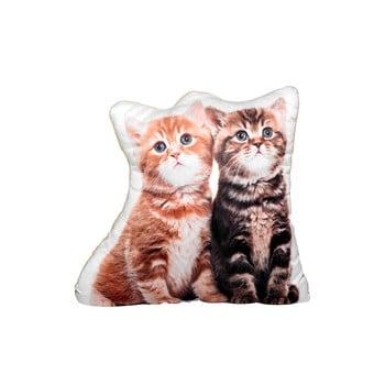 Pernă cu imprimeu Adorable Cushions două pisicuțe