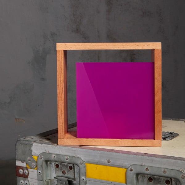 Stolní lampa Vitamin, fialová