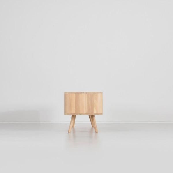 Televizní stolek z dubového dřeva Gazzda Ena, 180x42x45cm