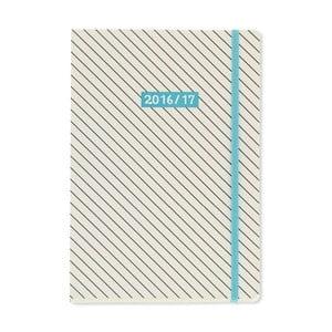 Diář A5 Go Stationery Monochrome Diagonal