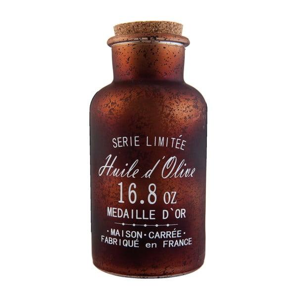 Skleněná lahev Olive, 550 ml