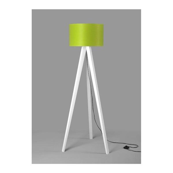 Stojací lampa Tripod Lime/White