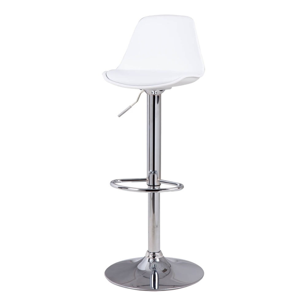 Bílá barová židle sømcasa Nelly, výška 104 cm