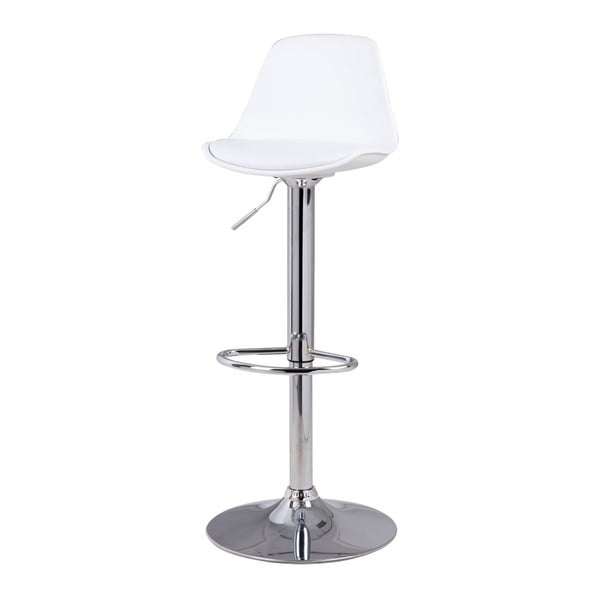 Scaun de bar Sømcasa Nelly, 104 cm h, alb