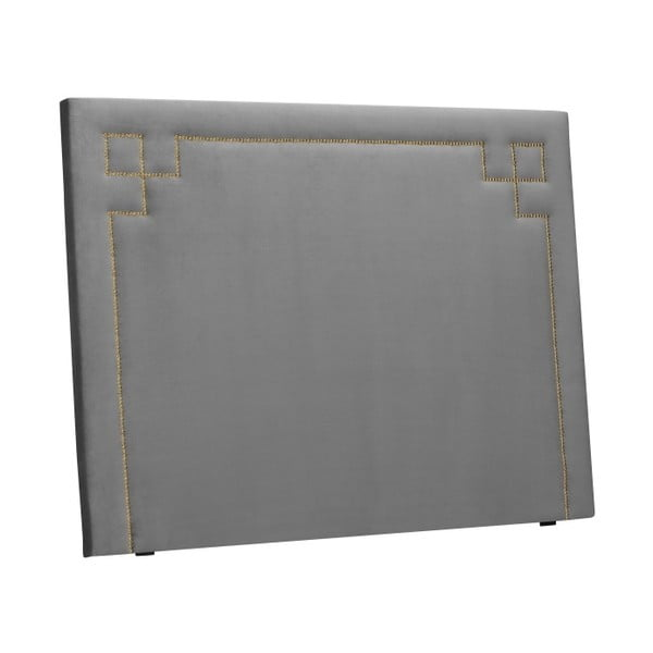 Světle šedé čelo postele THE CLASSIC LIVING Nicolas, 120 x 180 cm