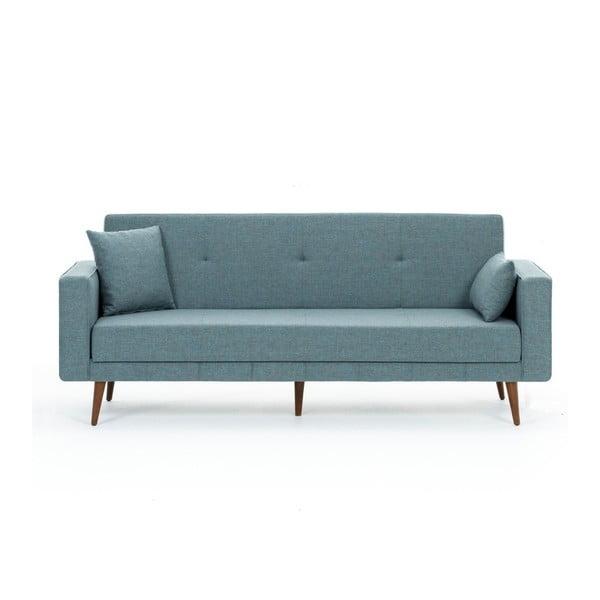 Canapea extensibilă Balcab Home Ivonne, albastru