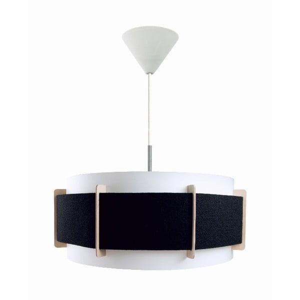 Černé závěsné svítidlo Vivorum Lux